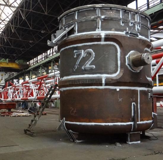 Stahlgießpfanne